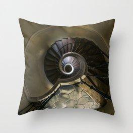 Circles and spirals Throw Pillow