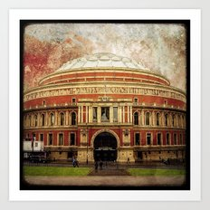 The Royal Albert Hall - London Art Print