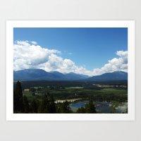 Canadian Landscape Art Print