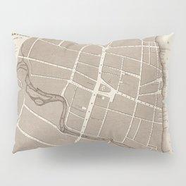 Map of Hartford 1824 Pillow Sham