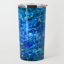 Water Color - Dark Blue - Navy Travel Mug