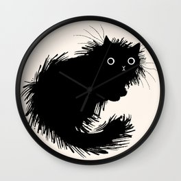 Moggy (No.2) Wall Clock