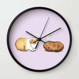 How Do You Do? Wall Clock