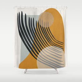 Abstract Shapes 33 Shower Curtain