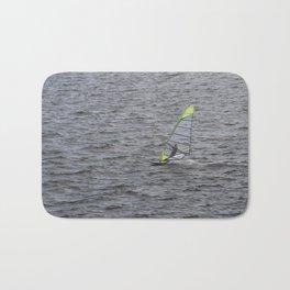 Wind Surfing in Key Biscayne Miami Bath Mat