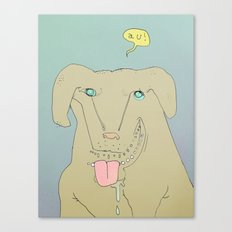 Dogdy dog Canvas Print