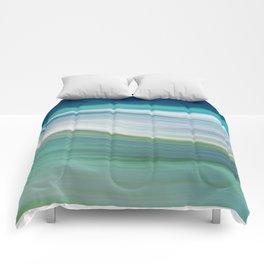 OCEAN ABSTRACT Comforters