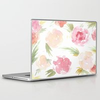"hawaiian Laptop & iPad Skins featuring ""Hawaiian"" by  Tori Wise Watercolors"