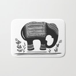 Lucky Elephant Bath Mat