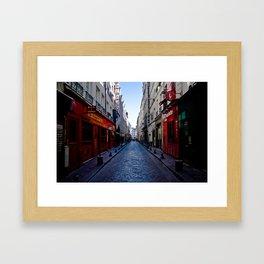 Bastille Street  Framed Art Print