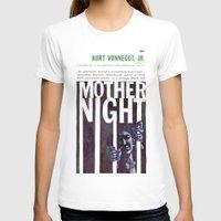 vonnegut T-shirts featuring Vonnegut - Mother Night by Neon Wildlife