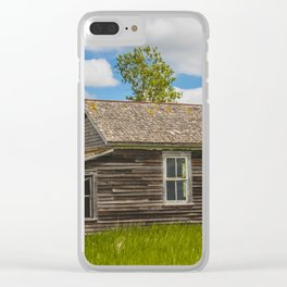 Christiania Township School, North Dakota 1 Clear iPhone Case