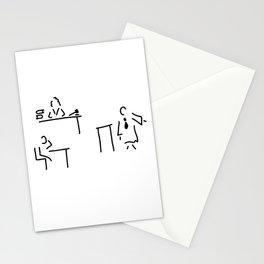 lawyer judge public prosecutor court Stationery Cards