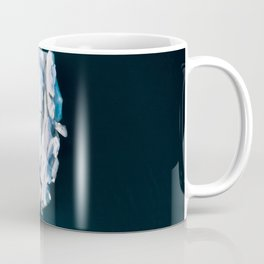 Lone, minimalist Iceberg from above - Landscape Photography Coffee Mug