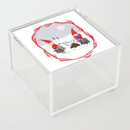 Snow and Stories Acrylic Box