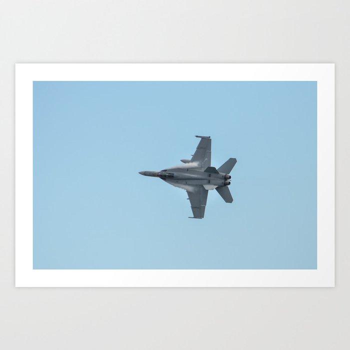 F11 Hornet Art Print
