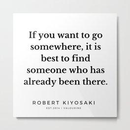 34  |  Robert Kiyosaki Quotes | 190824 Metal Print