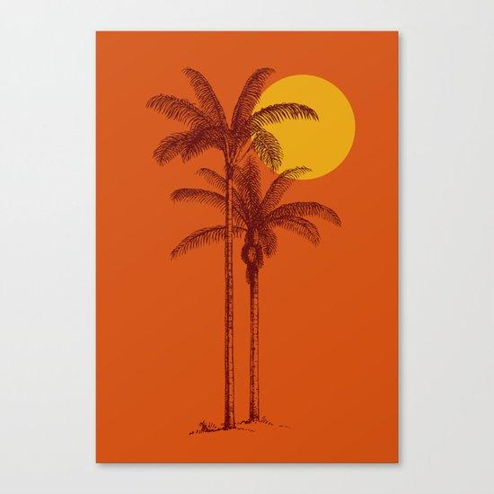 buenas tardes Canvas Print