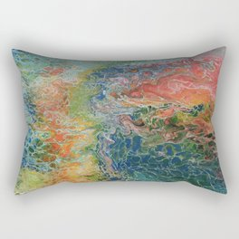Rainbow fantasy Rectangular Pillow