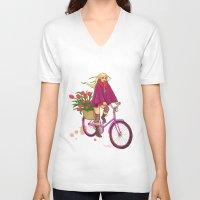 amsterdam V-neck T-shirts featuring Amsterdam by Nila V