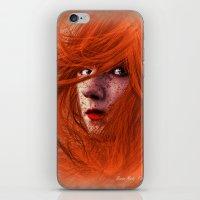 redhead iPhone & iPod Skins featuring redhead by Nuria Mrtz. FotoArt