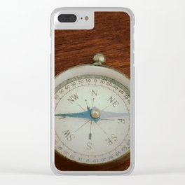 Go West Clear iPhone Case