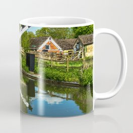 Aubreys Lift Bridge  At Thrupp Coffee Mug