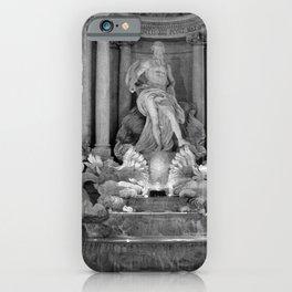 trevi fountain, Rome iPhone Case