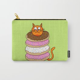 More Cats & Donuts Carry-All Pouch