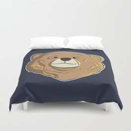 Happy Bear Duvet Cover