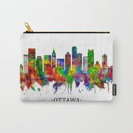 Ottawa Canada Skyline Carry-All Pouch