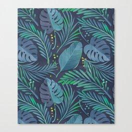tropical pattern Canvas Print