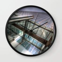 One Canada Square London Wall Clock