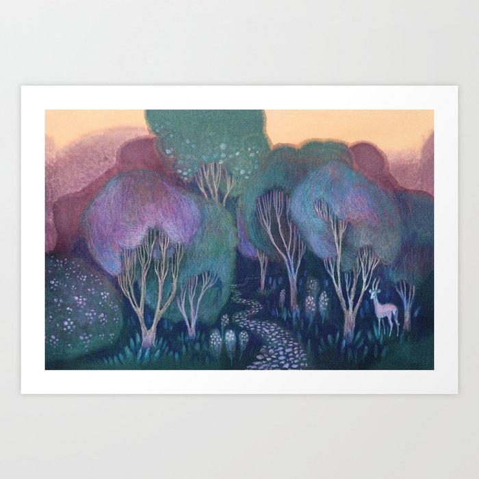 Into the Woods Kunstdrucke