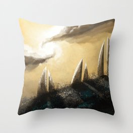 Ray of Light 3 Throw Pillow