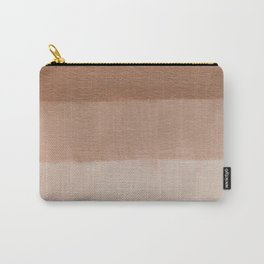 Dusty Rose Ombre Carry-All Pouch
