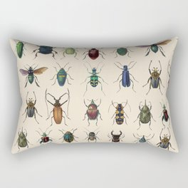 Insects, flies, ants, bugs Rectangular Pillow
