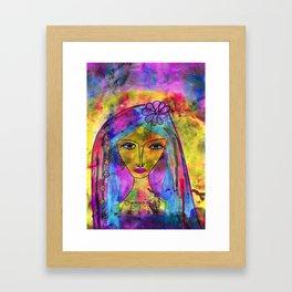 Heliya - The gypsy Queen Framed Art Print