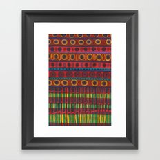 motif 04 Framed Art Print