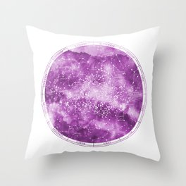 Southern Stars Rose Throw Pillow