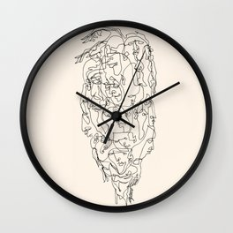 On Your Shoulders Wall Clock