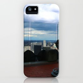 Top of the Rock View over Manhattan iPhone Case