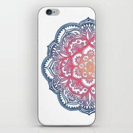 Radiant Medallion Doodle iPhone Skin