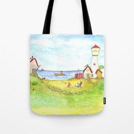 At the seaside Tote Bag
