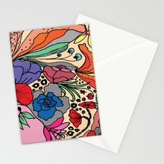 Flares Stationery Cards