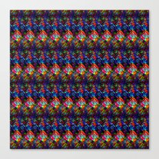 Maze of Quilts Canvas Print