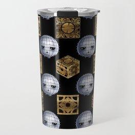 Chibi Pinhead & Puzzle Boxes Travel Mug