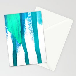 three legged race : abstract Stationery Cards