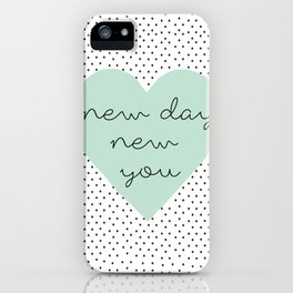 new you iPhone Case