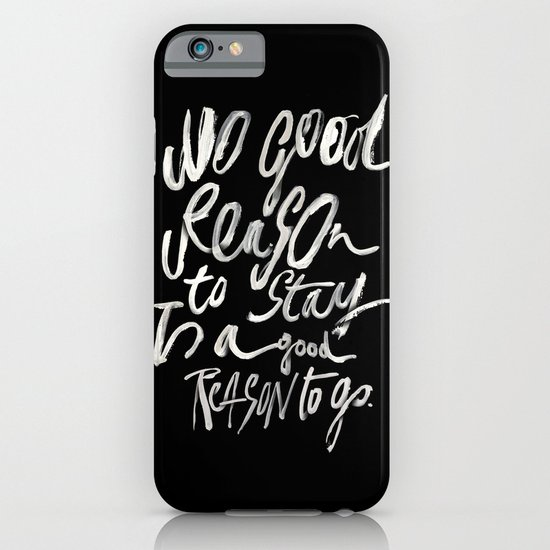 GOOD REASONS iPhone & iPod Case
